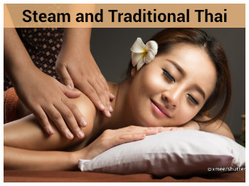 Steam and Traditional Thai Massage