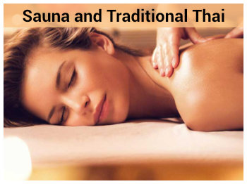 Sauna and Traditional Thai Massage