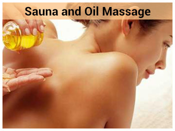 Sauna and Oil Massage