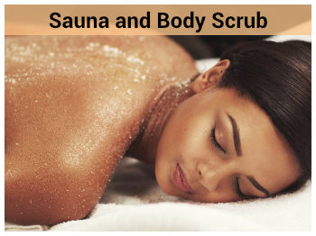 Sauna and Body Scrub